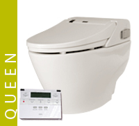 Luxury Queen Eco Bidet Button